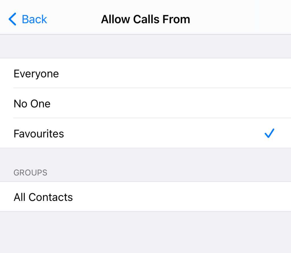 auto reply text to specific numbers iphone