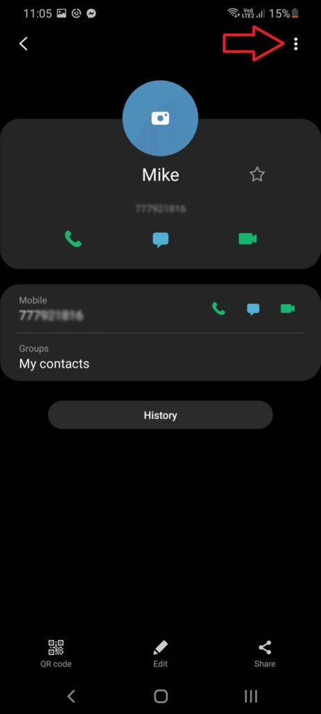 block phone number on your Android phone