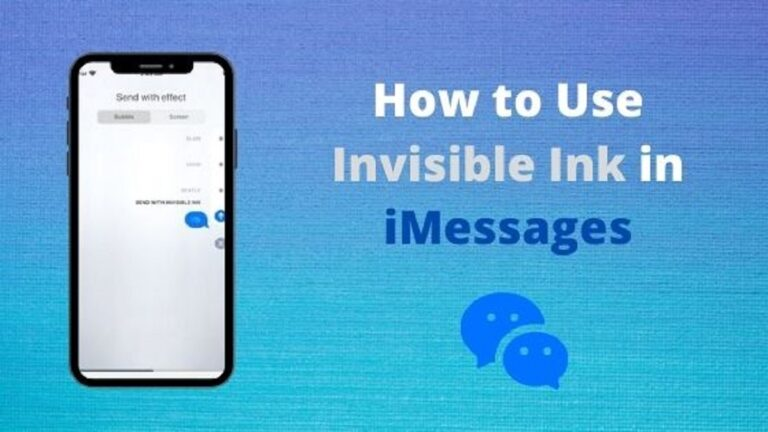 How to Use Invisible Ink ios