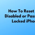 how to factory reset a locked iphone