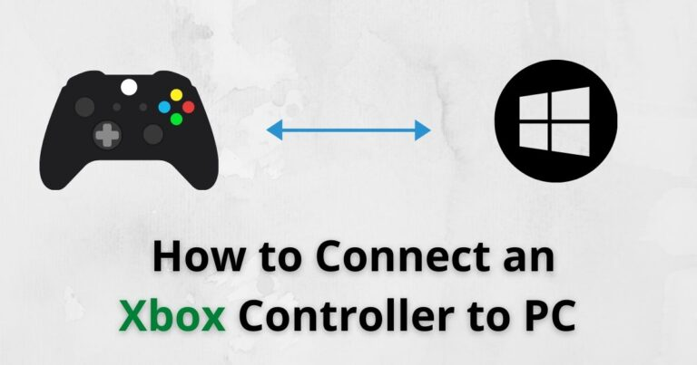 How to Connect an Xbox Controller to PC