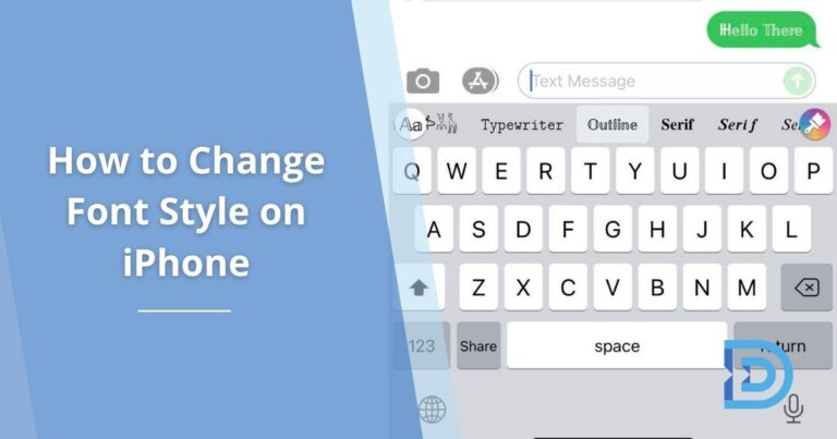 How to Change Font Style on iPhone