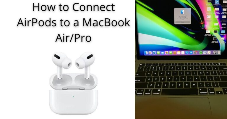 How to Connect AirPods to a MacBook
