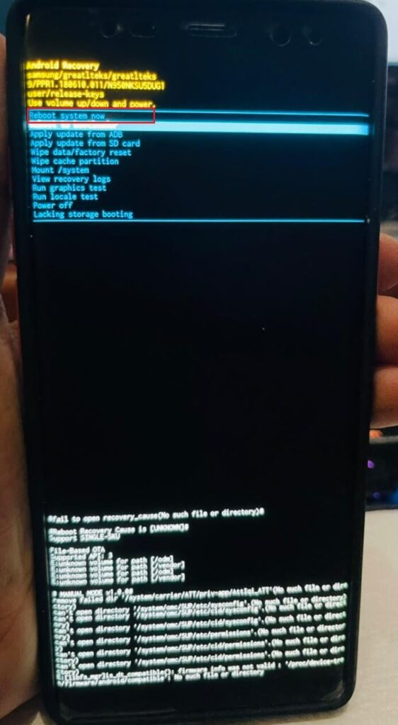 Turn on an Android Phone WithoutBroken Power Button- android boot menu