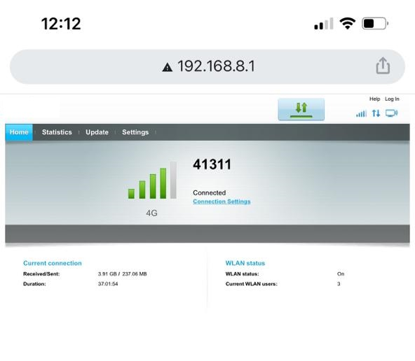 Get saved Wi-Fi passwords on iPhone using router settings